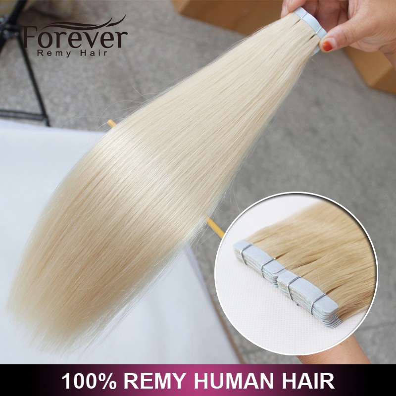 2016 New Style Hot Sale Top Quality 100% Remy Fusion 30 Inch Remy Tape Hair Extensions