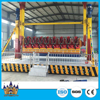 Outdoor playground equipment sky games 360 degree space travel ride used amusement park rides