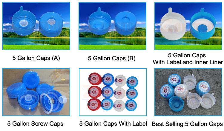 3 4 5 gallons bouteille d'eau en plastique/20 litres 20l grande bouteille d'eau potable