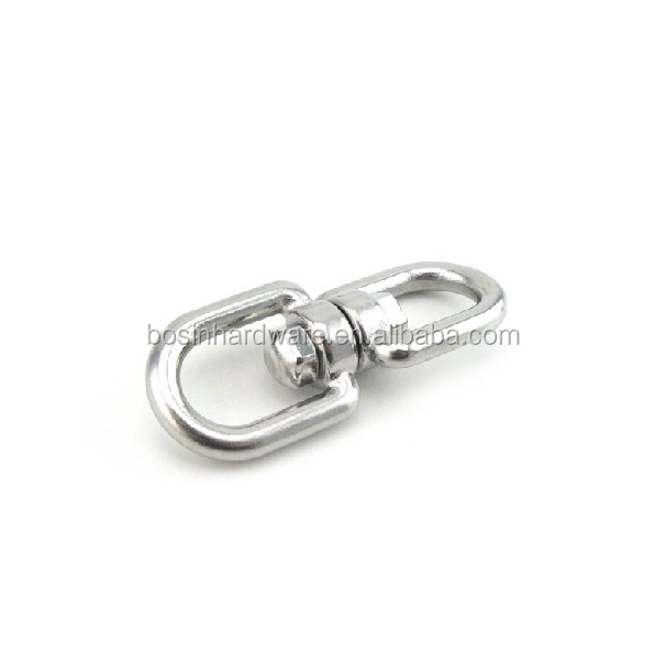 Fashion High Quality Metal Stainless Steel Double Eye Swivel