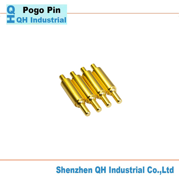 Brass Wigh Gold Plating 1 2 Mm Pitch Pogo Pin Connector Or Pogo Pin As  Contact Pin For Smart Phone Watch Keyboard - Buy Pogo Pin,Brass Gold  Plating