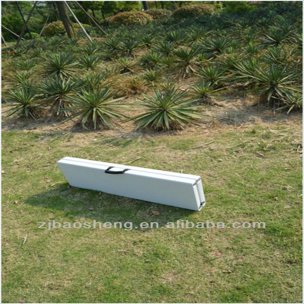 6ft En Plastique Jardin Pliant En Demi-banc Camping/pique-nique/à Manger  Banc Pliable - Buy Jardin En Plastique Banc Pliant Product on Alibaba.com