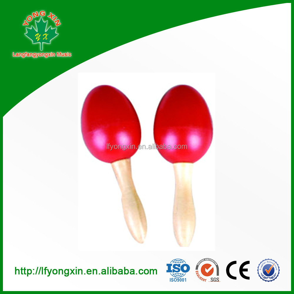 CE, EN71,ASTM F963 Musical instruments percussion plastic maracas for baby