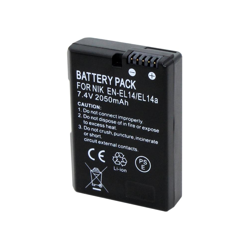Batteria Patona Premium 7,4V 1100mAh per Nikon D5100,D5200,D5300,D5500,D5600,Df