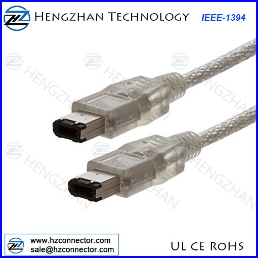 Electop USB Male to FireWire IEEE 1394 6 Pin Female Adapter