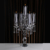 Top K9 Crystal 5 Arms Wedding Crystal Candelabra On Sale Matching Stick Candles For Wedding Centerpiece Decorations