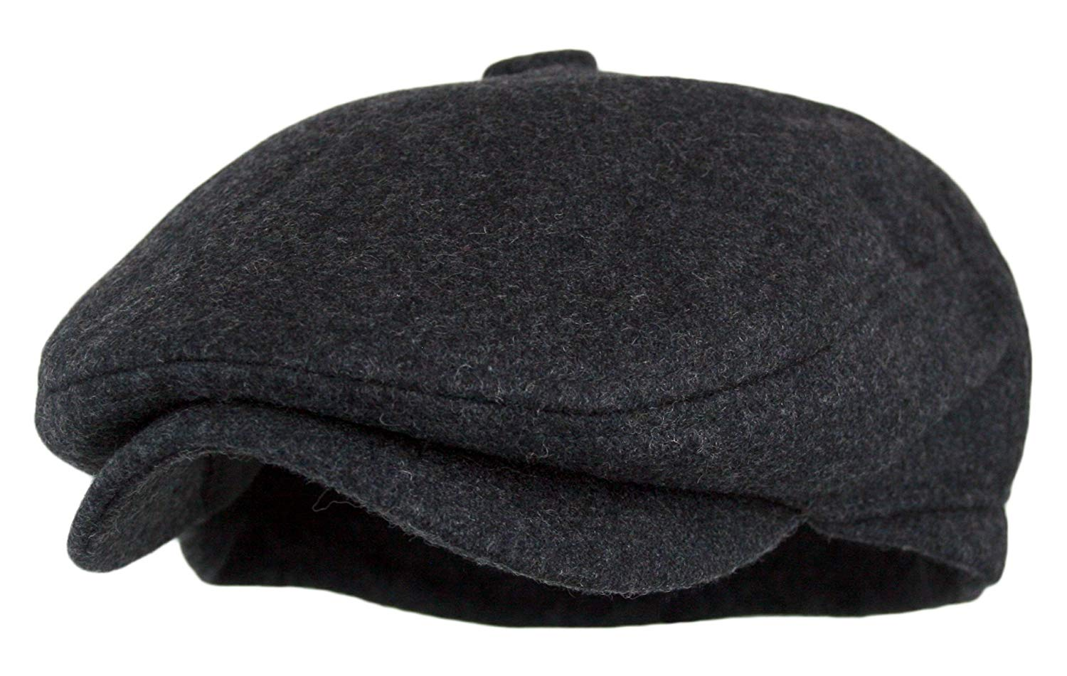 ce22ff33997 Get Quotations · Wonderful Fashion Men s 5 Panel Vintage Style Wool Blend Gatsby  IVY newsboy Hat
