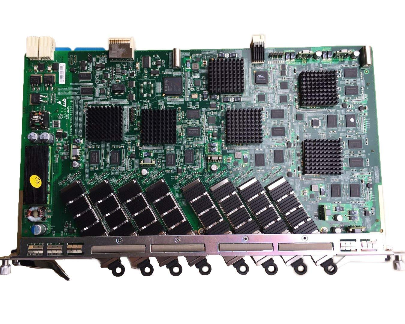 Generic OLT 10G GPON board, GTXO service card with 8 XFP module for C300,C320