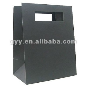 2012 GYY Mod Laminated Matt Paper Shopping Bags - Black