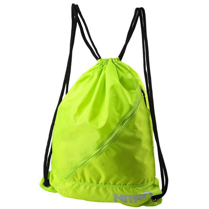 Eco friendly waterproof nylon drawstring backpack bags, promotional drawstring swimming bags