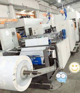 nonwoven fabric box bag making machine