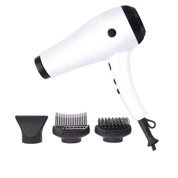 Professional Blow Dryer 1800W-2200W Quiet Lightweight Hair Dryer with Brush Attachments