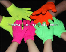 Winter 100% Acrylic magic gloves for kids