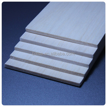 Thin balsa wood sheet for aircraft models made in china for Thin wood sheets for crafts