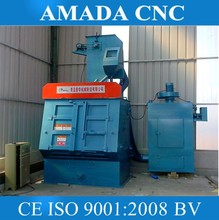 Q32 Series tracked Steel Shot Blasting Machine for cleaning rust on steel