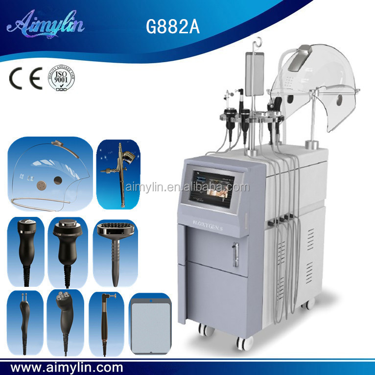 Hyperbaric Oxygen Facial Beauty Machine/Hyperbaric Oxygen Skin Whiten Tighten Machine