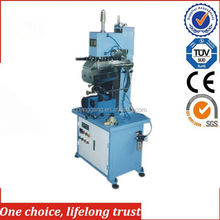 TJ-13High quality roll to roll Hot stamping machine for wood strip, plastic strip, PVC rulers