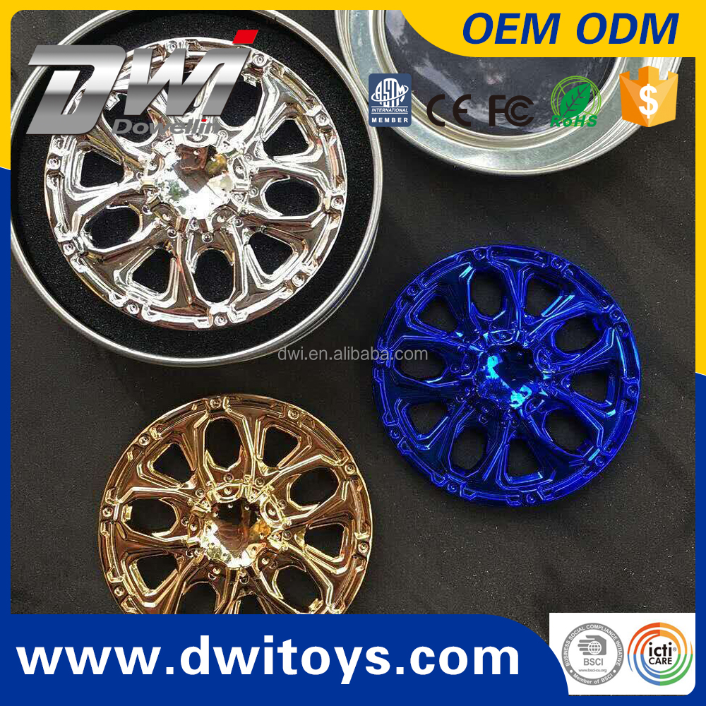 DWI-108 alloy high quality spinner metal flying Stress release spinner