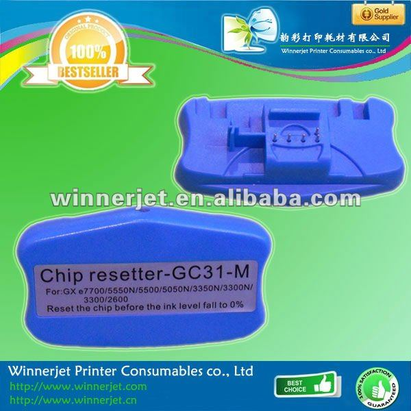 Supply Chip Resetter For Ricoh GX e7700 Chips/toner Chip/cartridge Chip