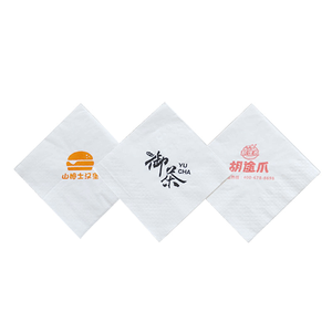 Full Embossing1Ply Printed Servitte Paper,Dinner Paper Napkin for Restaurants