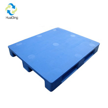 ISO 9001/14001 single face hape steel reinforced hdpe plastic pallet made in china hdpe pallet