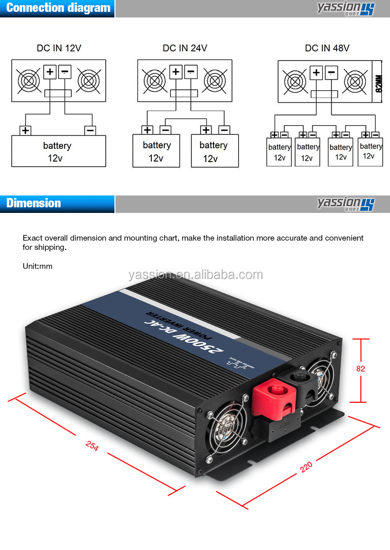 Dc 12v Ac 220v 2500w Modified Sine Wave Power Inverter Circuit Watt To 230v Electronic Circuits Diagram