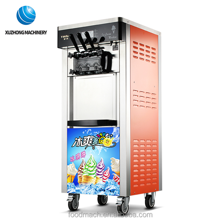 Best quality large capacity commercial ice cream making machine for sale