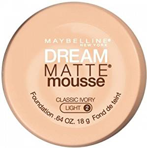 Maybelline Dream Matte Mousse Foundation(Classic Ivory Light 2)