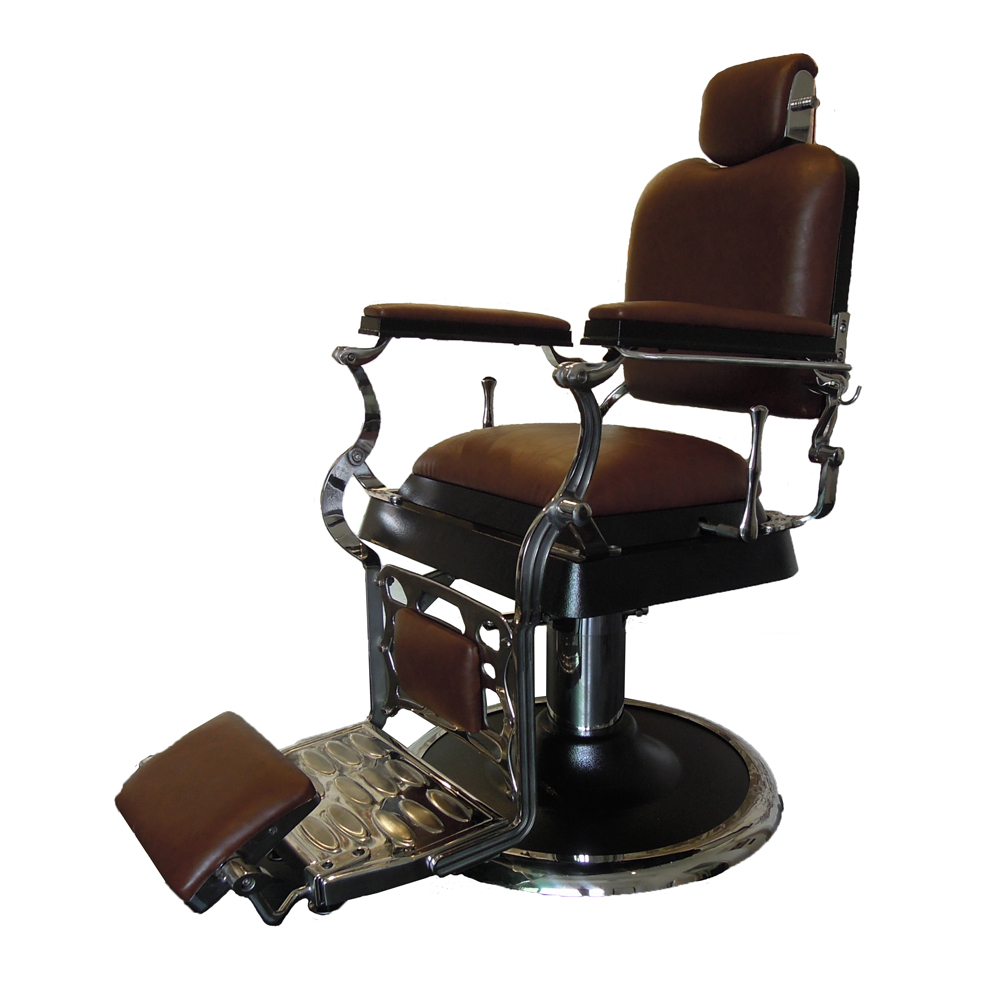 Modern barber chair - Luxury Elegant Modern Chair Hydraulic Reclining Barber Chair