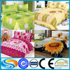 Super soft cute top quality safety material cotton baby round crib bedding