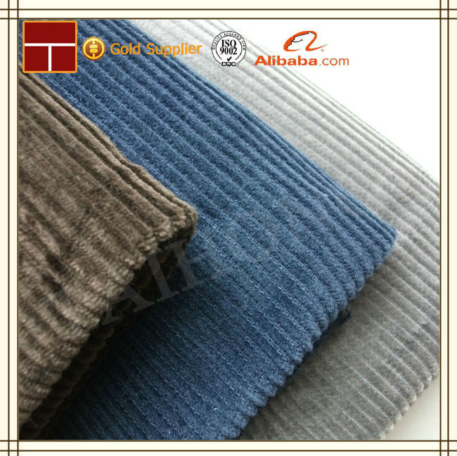 6 Wale Wide Corduroy Heavy Cotton Upholstery Fabric
