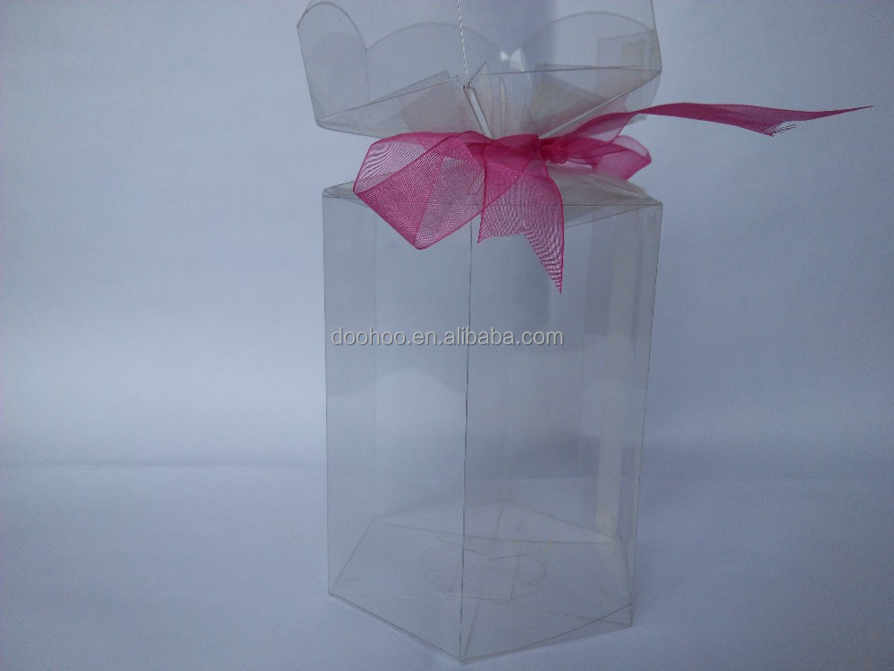 popular clear plastic box for gifts