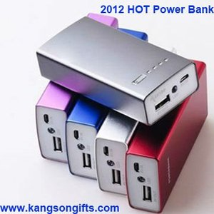 portable 4400mAh power bank for iphone and ipad, smart phone