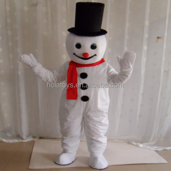 New gingerbread man christmas party costumes/christmas mascot costume for show