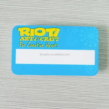 Custom Printing Logo Magnetic Name Badges - Buy Name Badge With Magnetic  Back,Blank Magnetic Name Badge,Magnetic Name Badge Holder With Printing
