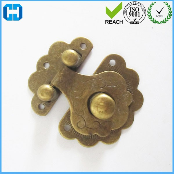 Metal Lock Catch Latches For Gift Wijnbox Gespsluiting