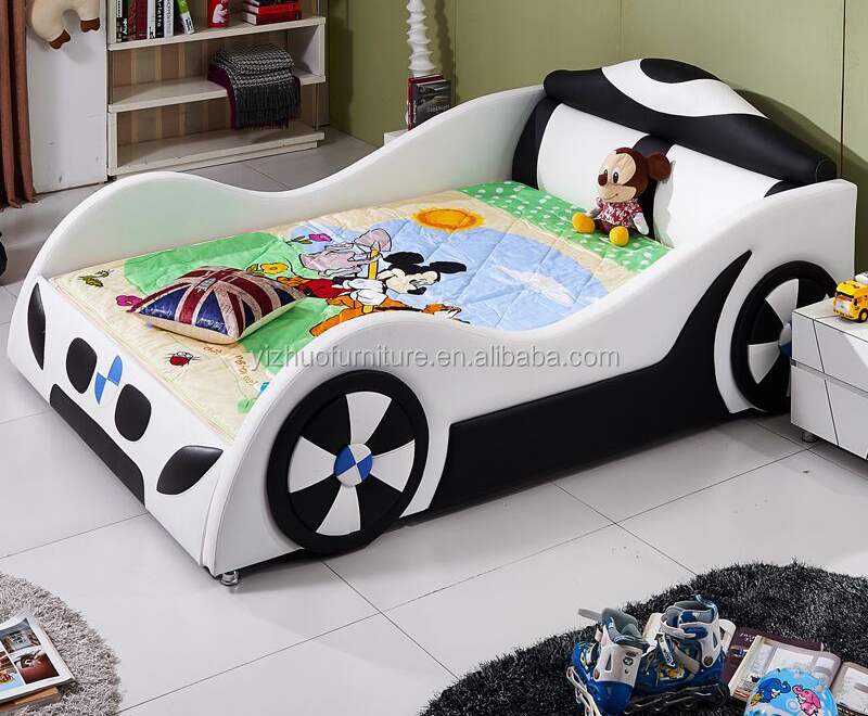 Luxury red Lamborghini race car <strong>bed</strong> for kids queen size with 3 years warrent