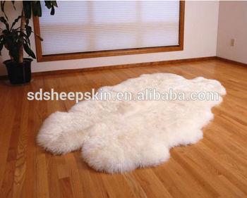 Quarto Sheepskin Rug Goat Skin Rug Sale Sheepskin Product Wholesale