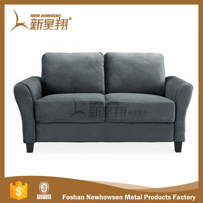 Brand new fabric chaise lounge living room sofa design for wholesales