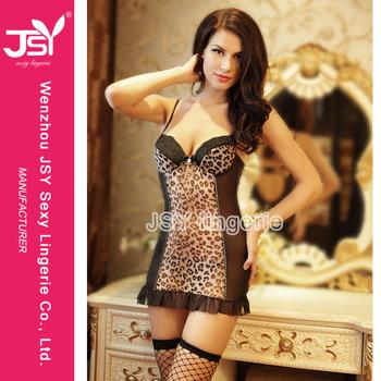 girls in leopard print Sexy
