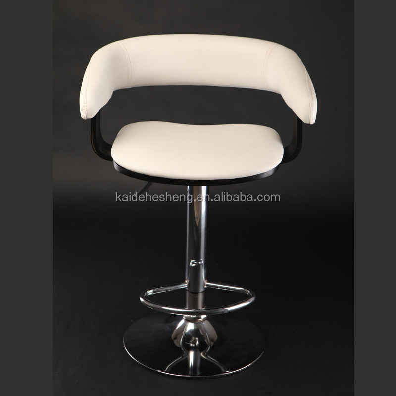 Captivating White Leather Bar Stool, White Leather Bar Stool Suppliers And  Manufacturers At Alibaba.com