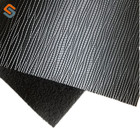 New product Jiangyin manufacturer PVC 0.8MM thickness terry fabric black leather for decoration,upholstery,bag,sofa