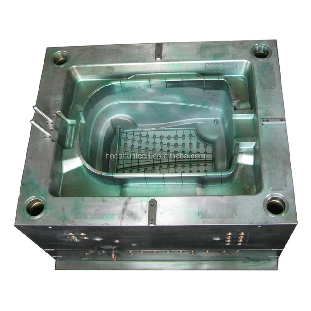 Variety of plastic broom parts injection mold processing supplier