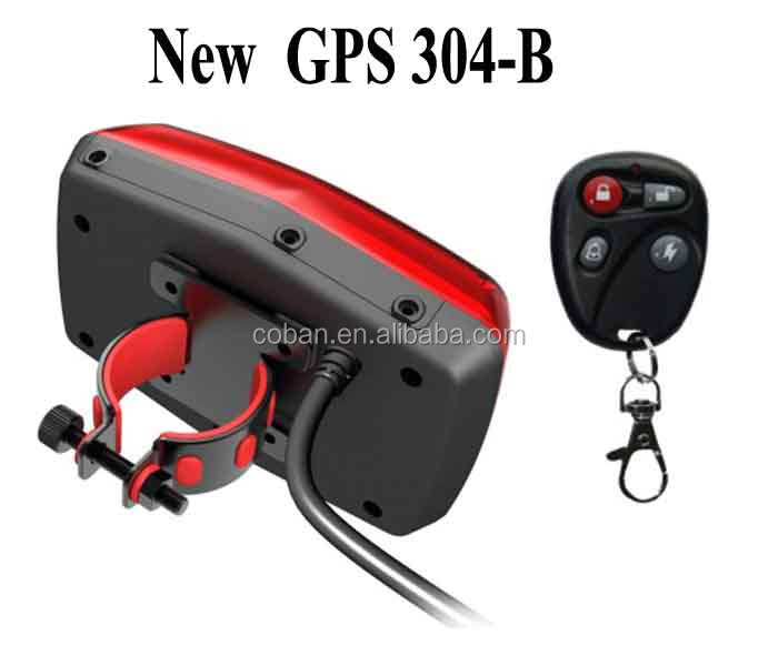 Anti-theft Rainproof Motorcycle gps tracker with online software support,remote control small tracking unit