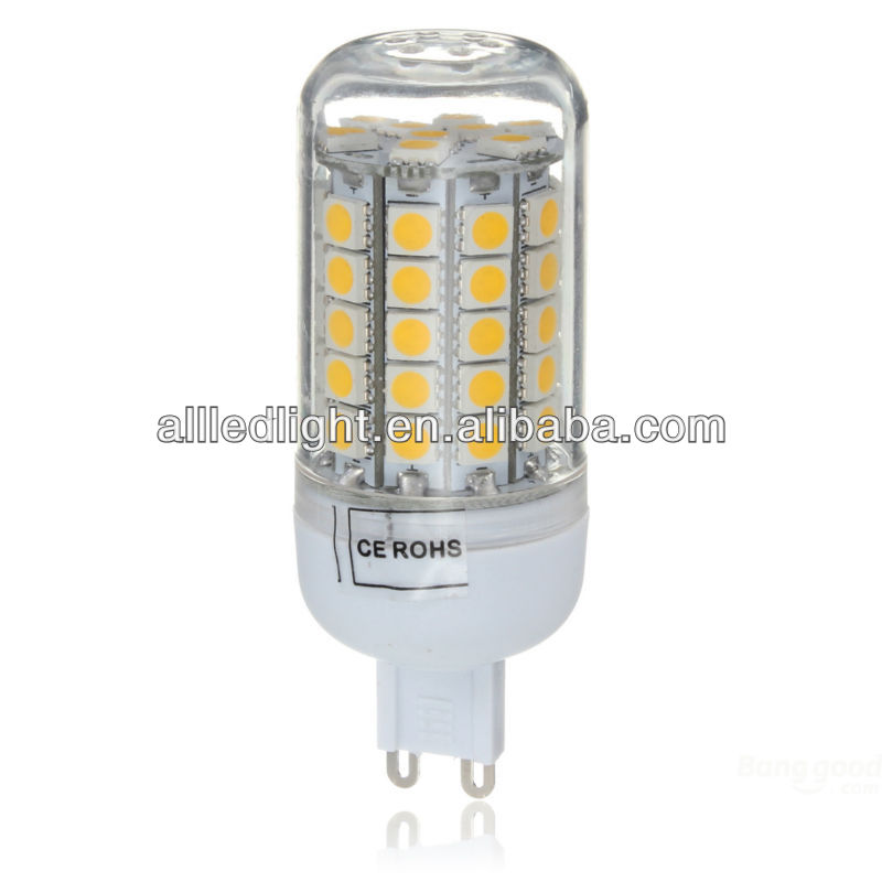 g9 cob led lamp, 7W ,with 59PCS 5050SMD