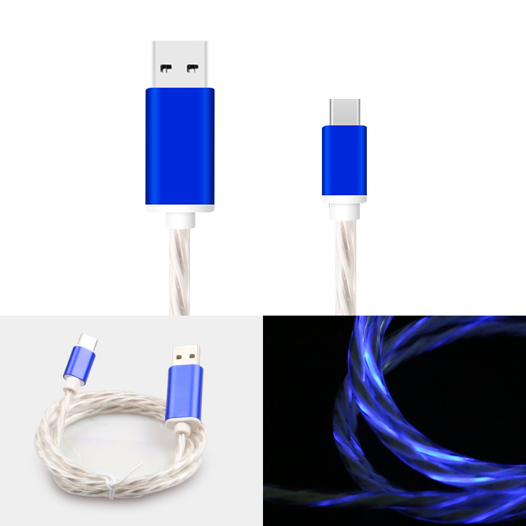 Shitec top selling flow light USB Cable