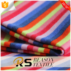 2018 most popular item striped print knit fabric cotton floral fabric