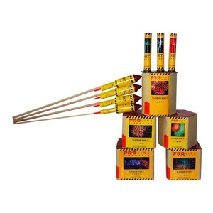 High quality happy family assortment fireworks Wholesale consumer mix box fireworks Cakes and fountain mix NT0009