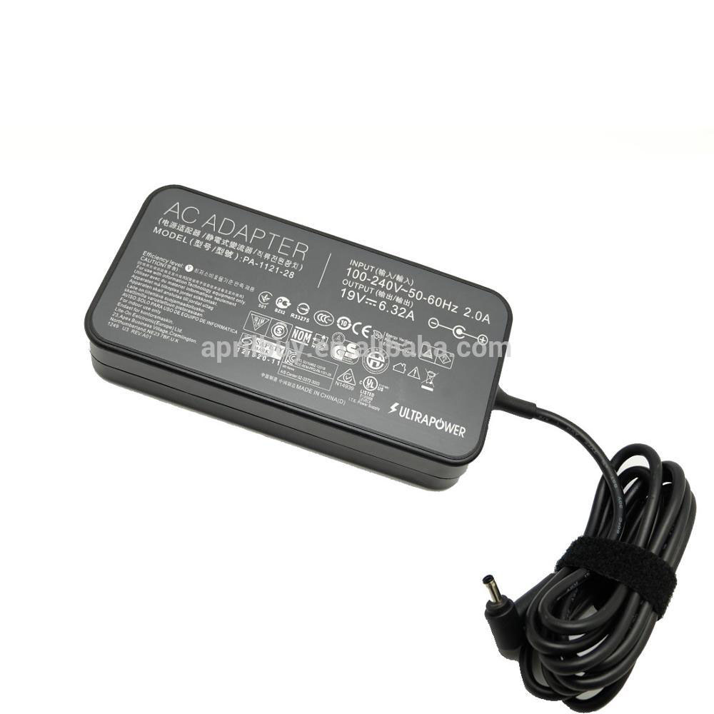 Laptop ac adapter 19 V 6.32A 120 W voor ASUS UX501J