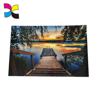 Flat packed or folded in roll Custom Size colorful A1 size poster Printing